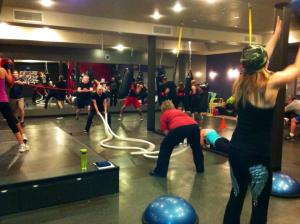 Valentine's Kickboxing Class 2013