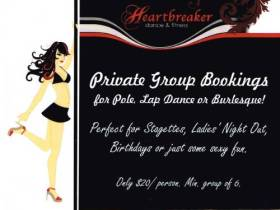 Private Group Bookings