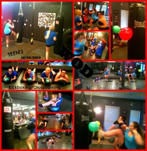 WOD...#kick #punch #cardio