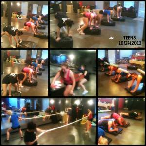 TEENS STAYING FIT!